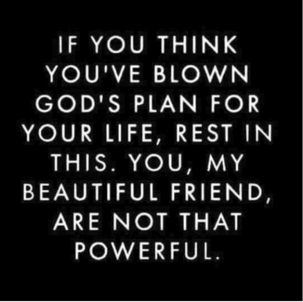 blown Gods plan